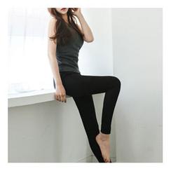 Bongjashop - Fleece-Lined Leggings