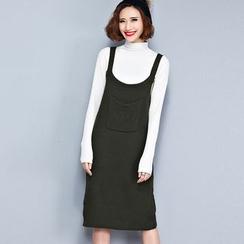 Clover Dream - 針織吊帶裙