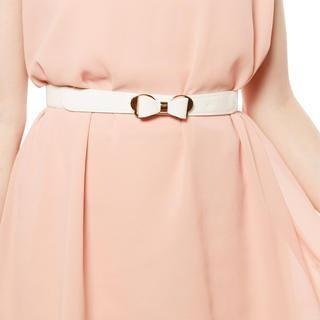 Tokyo Fashion - Bow-Accent Elasticized Belt