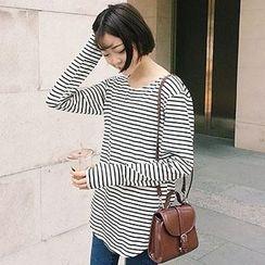 Cloud Nine - Stripe Long-Sleeve T-shirt