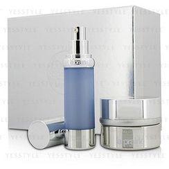 La Prairie 蓓丽 - Cellular Perfection Companions Set: Anti Aging Stress Cream 50ml/1.7oz + Cellular Hydrating Serum 30ml/1oz