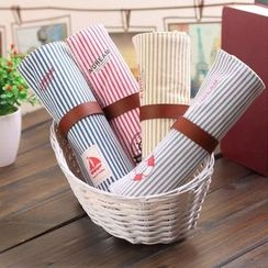 Lover's Kiss - Striped Roll-Up Pencil Case