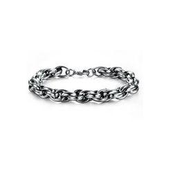 腾翼 - 钛钢锁链手链