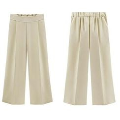 GRACI - Cropped Wide Leg Pants