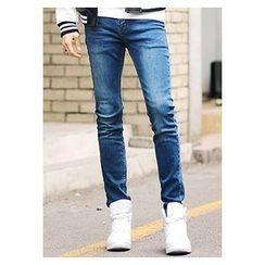 HOTBOOM - Washed Blue Jeans