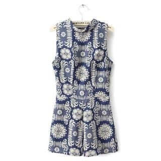 LULUS - Printed Sleeveless Playsuit