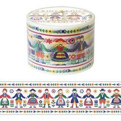 Aimez le style - Aimez le style Masking Tape Primaute Wide Folk Art