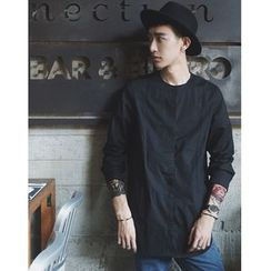 Mr. Cai - Long-Sleeve Linen Shirt