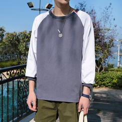 Soulcity - Raglan 3/4-Sleeve T-shirt