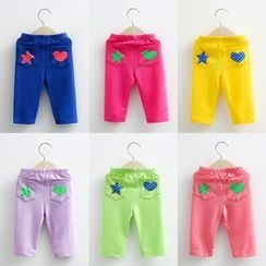 Seashells Kids - Kids Cropped Pants
