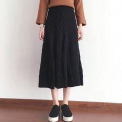 Shatan - Knit Midi Skirt