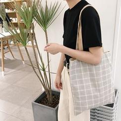 Eastin - Double-Sided Canvas Shopper Bag