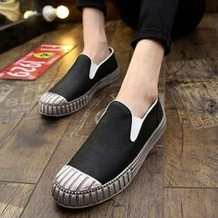 HANO - Faux Leather Slip-Ons