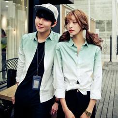 Bonne Nuit - Couple Matching Gradient Shirt
