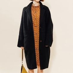 Heynew - Notch Lapel Single-Breasted Coat