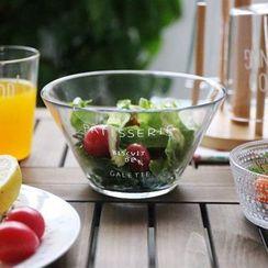 Kawa Simaya - Lettering Glass Bowl