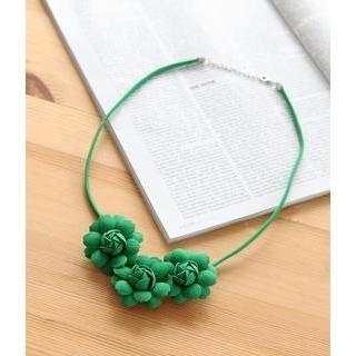 Petit et Belle - Flower Necklace