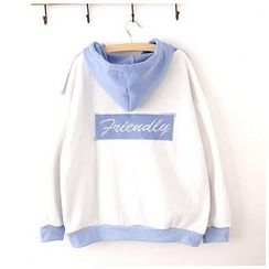 Maymaylu Dreams - Fleece-Lined Hooded Pullover