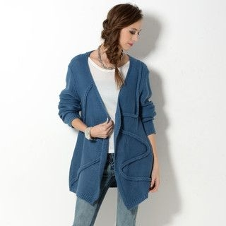 YesStyle Z - Open-Front Cardigan