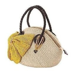 Trava - Ribbon Straw Bag
