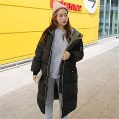 QNIGIRLS - Hooded Padded Coat