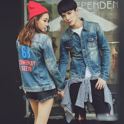 Evolu Fashion - Couple Matching Denim Jacket