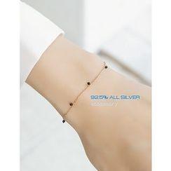 soo n soo - Beads Silver Bracelet