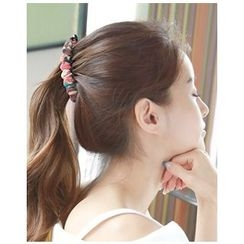 Miss21 Korea - Fabric-Wrapped Hair Clamp