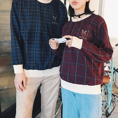 Real Boy - Long-Sleeve Check Top