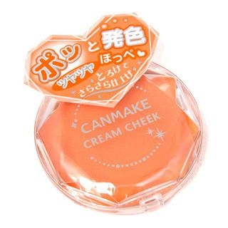 Canmake - Cream Cheek (#04 Vitamin Orange)