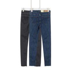 Momewear - Distressed Skinny Jeans
