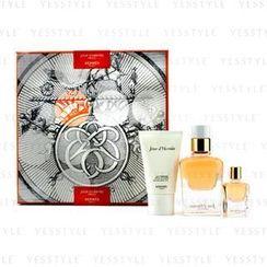 Hermes 爱马仕 - Jour DHermes Absolu Coffret: Eau De Parfum Refillable Spray 50ml/1.6oz + Eau De Parfum Miniature 7.5ml/0.25oz + Body Lotion 30ml/1oz