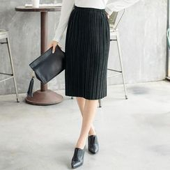 Tokyo Fashion - Pleated Pencil Skirt