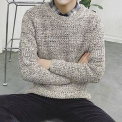 T for TOP - Waffle Knit Sweater