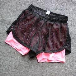 Cara Cloud - Drawstring Sports Shorts