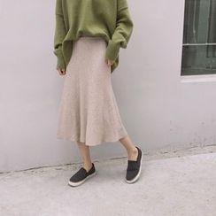 Kojasmine - A-Line Midi Skirt