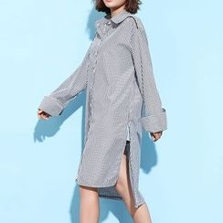 Myrtle - Striped Long Shirt