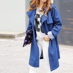 Seoul Fashion - Washed Trench Coat