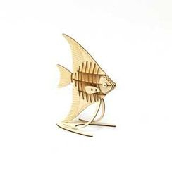 Team Green - 夾板立體 - 天使魚拼圖
