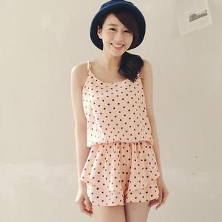 Tokyo Fashion - Dotted Ruffle Playsuit