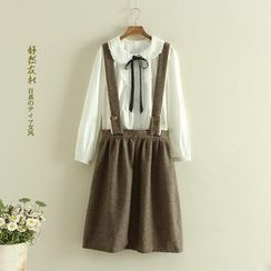 Storyland - Dotted Suspender Skirt