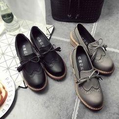 Micha - Bow Loafers