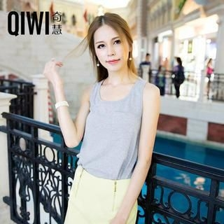 QIWI - Racer-Back Tank Top