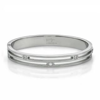 Kenny & co. - Crystal Striped Bangle(L)