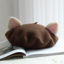 EVEN - 親子裝貓耳貝蕾帽