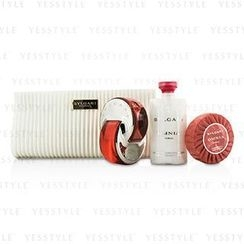 Bvlgari - Omnia Coral Coffret: Eau De Toilette Spray 65ml/2.2oz + Soap 75g/2.6oz + Body Lotion 75ml/2.5oz + Pouch