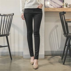 Styleberry - Brushed Fleece Lined Skinny Pants