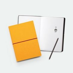 LIFE STORY - Faux-Leather Cover Banded Diary (M)