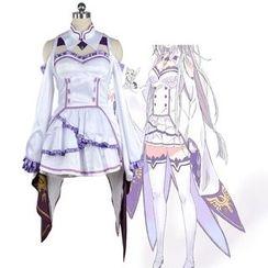 GetSetGo - Emilia Cosplay Costume
