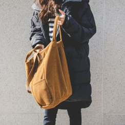 JUSTONE - Corduroy Shopper Bag
